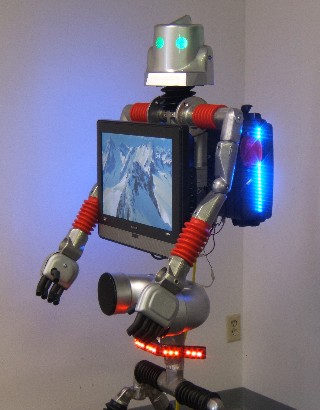 robot mechanical man