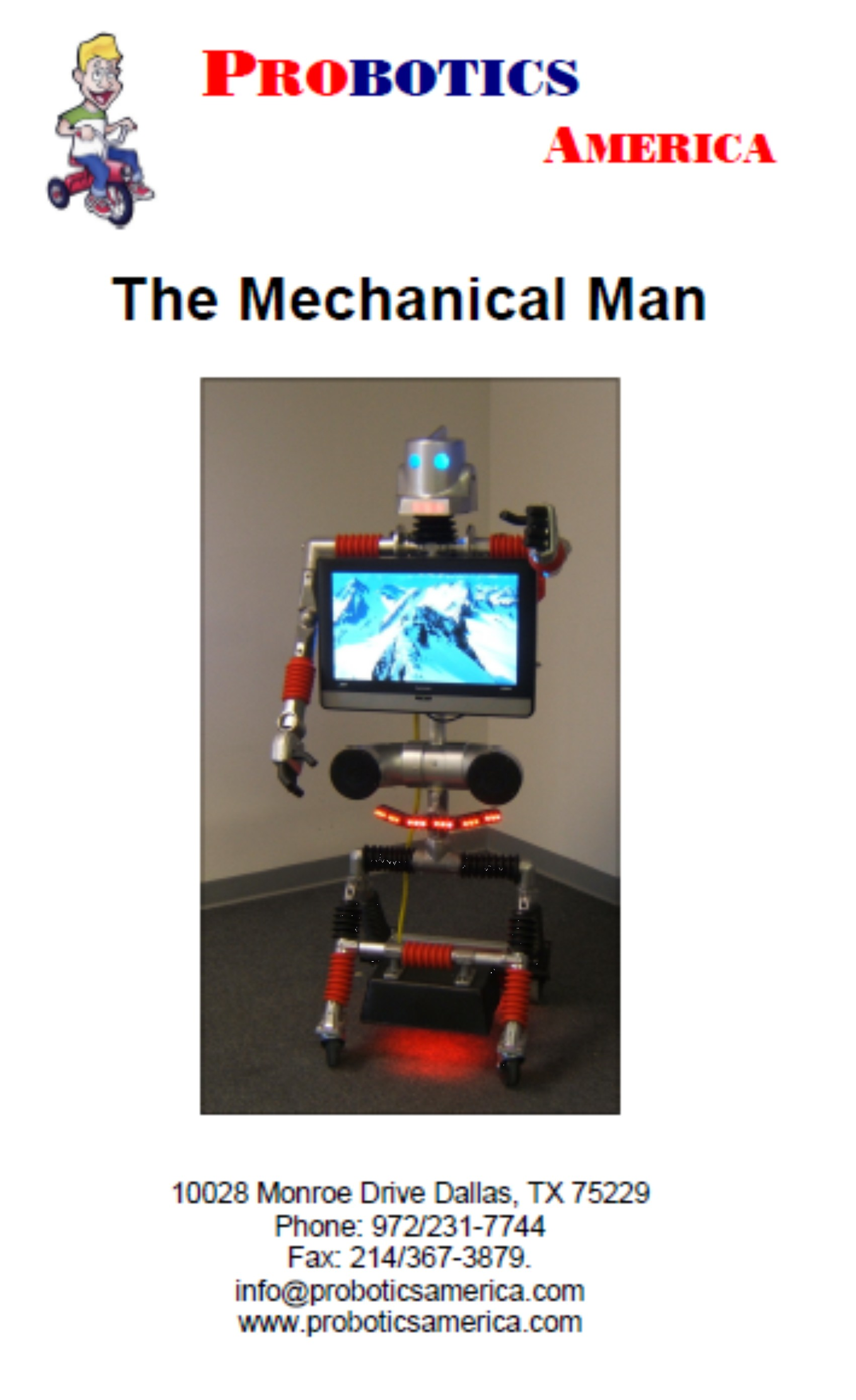 mechanical man robot